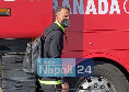Il Granada è arrivato all'hotel Britannique di Napoli! Soldado: Condizioni fisiche ok [VIDEO & FOTOGALLERY CN24]