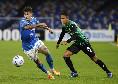 """Sassuolo, Rogerio: """"Napoli abituato a giocare ogni tre giorni, non è un problema per loro. Vogliamo l'Europa"""""""