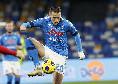Sassuolo-Napoli 1-1, arriva subito la risposta degli azzurri sull'asse Demme-Zielinski