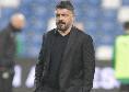 Rotazioni col Bologna Bologna poi ci sarà il trittico di fuoco: le scelte di Gattuso