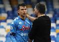 Gattuso richiama Lozano, il messicano risentito ma è subito pace in campo