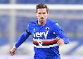 Sampdoria, doppia tegola per D'Aversa: Adrien Silva e Thorsby ko, emergenza contro il Napoli