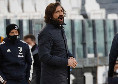 """Juventus, Pirlo: """"Voglio rivedere lo stesso spirito visto col Napoli, dobbiamo dar continuità"""""""