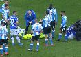 Sampdoria-Napoli, scontro durissimo Gabbiadini-Ospina [FOTO]
