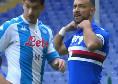 """Sampdoria-Napoli, battibecco Gattuso-Quagliarella: """"Mister, stai facendo la telecronaca!"""". """"Pensa a giocare, che ca**o vuoi?"""" [VIDEO]"""