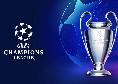 Sorteggio spareggi Champions League: gli accoppiamenti dei playoff per gli ultimi sei posti
