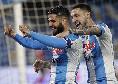 Classifica marcatori del Napoli: Insigne al 4° posto, tocca quota 110