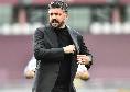 Primi cambi per il Napoli: Gattuso manda in campo Mertens e Mario Rui