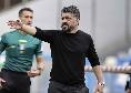 Sky - Nessun riavvicinamento con De Laurentiis, Gattuso piace alla Fiorentina