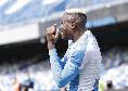 I numeri di Osimhen contro lo Spezia: due gol e un assist per l'attaccante nigeriano