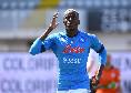 Spezia-Napoli 0-3: doppietta per Osimhen, gran gol su schema da calcio piazzato per il nigeriano