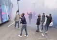 Il Napoli verso il 'Maradona', i tifosi incitano la squadra al coro di 'Un giorno all'improvviso...' [VIDEO]