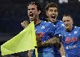 Show del Napoli, Di Lorenzo firma il 4-1!