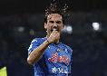 Napoli in gol da 24 partite di fila: eguagliato un record storico del 1975