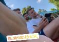 Italia, scherzo di Insigne a Immobile: l'attaccante si spaventa tra le risate degli altri azzurri [VIDEO]