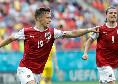 Baumgartner schianta l'Ucraina, l'Austria vola agli ottavi ed affronterà l'Italia