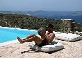 """Rrahmani si esercita anche a Mykonos: """"C'è sempre tempo per allenarsi""""[FOTO e VIDEO]"""