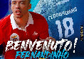 """Calcio a 5, Napoli Futsal, ecco Fernandinho: """"Sarà fantastico giocare a Napoli"""". Il presidente Perugino: """"Ci farà divertire"""""""
