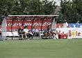 Dimaro, in panchina accanto a Giuntoli e Chiavelli c'è anche Micheli [FOTO CN24]