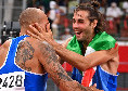 """I complimenti della SSC Napoli a Jacobs e Tamberi: """"Quello che avete fatto rimarrà nella storia dello sport italiano"""""""
