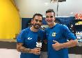 """Calcio a 5, Alex e Hozjan scherzano: """"Sì, siamo un po' pazzi, vogliamo fare un grande campionato"""""""
