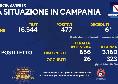 Bollettino Coronavirus Campania: aumentano i nuovi casi, 477! Sono 6 i deceduti [FOTO]