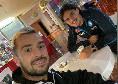 Udinese, Nestorovski va a trovare Elmas nel ritiro del Napoli a Udine [FOTO]