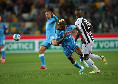 Ieri il Napoli lascia che l'Udinese scarichi la sua foga iniziale, poi si sistema: il retroscena di Repubblica