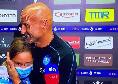 Spalletti vince e commuove: abbraccio in diretta con la figlia Matilde [VIDEO]