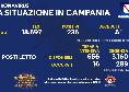Bollettino Coronavirus Campania: 236 positivi e 5 deceduti