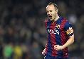 """Iniesta sul ritorno al Barça: """"Mi piacerebbe, ma non ho ancora deciso"""""""