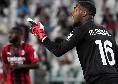 """Milan, Maignan: """"Cori all'Allianz Stadium? Il razzismo è sbagliato, la storia è destinata a ripetersi senza provvedimenti. Sono Mike, fiero di essere nero"""""""