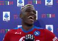 """Osimhen fa impazzire i tifosi con le prime parole in italiano: """"Forza Napoli sempre!"""" [VIDEO]"""