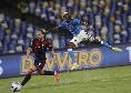 Napoli-Cagliari 2-0, la moviola CorSport: manca il giallo per Godin, eccessiva l'ammonizione a Osimhen