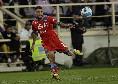 Prima ammonizione del match: cartellino giallo per Rodriguez