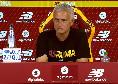 Mourinho-Spalletti situazioni opposte fotografate dall'ultimo match