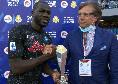 Koulibaly premiato prima di Napoli-Torino: è il miglior giocatore EASports del mese di settembre [FOTO & VIDEO]