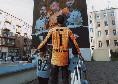 """'Provocazione' social del Legia Varsavia: """"Napoli famosa per i suoi murales, ma noi ne abbiamo di migliori"""" [FOTO]"""