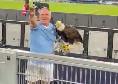 Falconiere della Lazio fa il saluto fascista ed inneggia al Duce: sospeso [VIDEO]