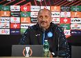 """Formazioni Napoli Legia, Spalletti annuncia: """"Ci saranno dei cambi"""""""