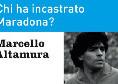 """""""L'idolo infranto - Chi ha incastrato Maradona?"""": il libro inchiesta di Altamura in uscita il 28 ottobre"""