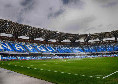 """L'assessore Cosenza: """"Tifosi al Maradona, valutiamo una standing zone senza numerazione. Dialogo in corso"""""""