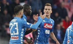 Sky - Inisgne e Mertens non al meglio, Milik verso una maglia da titolare a Cagliari: il polacco è in grandissima forma