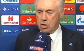 Ancelotti a Sky: Fatto tutto quel che potevamo, il dispiacere ci caricherà per l'Europa League. Mancata lucidità, sull'occasione di Milik... [VIDEO]