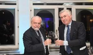 Ancelotti-Napoli, si lavora al rinnovo oltre il 2021: meeting con ADL per i diritti d'immagine. Il patron vuole attirare sponsor internazionali