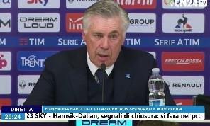 Ancelotti a Radio KK: Non è sfortuna, dobbiamo essere più precisi in zona gol: contro Fiorentina e Toro ne dovevamo fare 4. Mi viene da ridere quando si parla di motivazioni