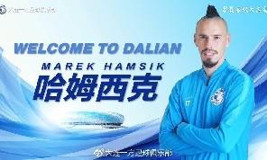 UFFICIALE - Il Dalian annuncia l'arrivo di Hamsik, ecco la prima foto dello slovacco con la divisa del nuovo club