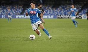 Elmas, l'agente: Ha scelto Napoli perché vuole vincere, ha parlato con Ancelotti. Il San Paolo lo carica