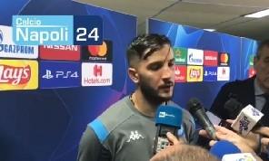 Manolas in mixed: Siamo il Napoli, vogliamo vincere sempre! Non abbiamo fatto segnare i campioni, Koulibaly il migliore d'Europa [VIDEO CN24]