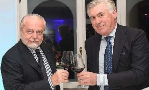 De Laurentiis: Higuain? Se Ancelotti me lo chiedesse...perchè no? A Mertens e Callejon ho fatto un'offerta, il Napoli è una bandiera da amare e non solo per soldi